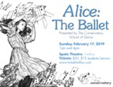 Alice the Ballet - 4pm Showtime